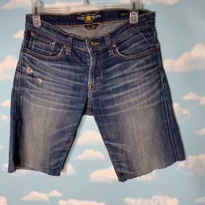 Lucky Brand- Sienna Tomboy CutOff Shorts size 26/2